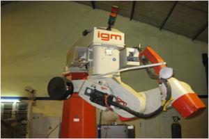 TR Engineering IGM Robotic Welding