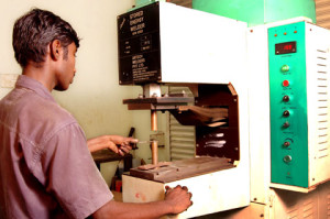 TR Engineering Nut Welding Machine